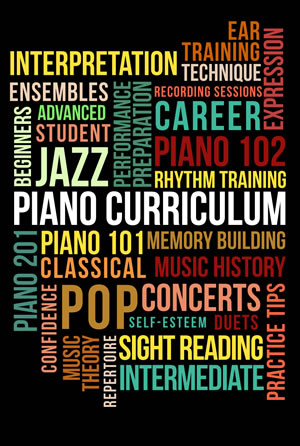 Piano Curriculum, Pastimes for a Lifetime