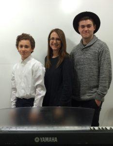 Aidan Caplan, Linda Wehrli and Cameron Carr, SFVACC Winter Holiday Faire