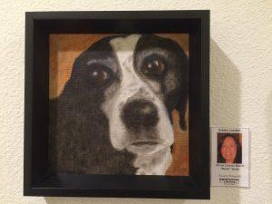 Estela Lozdon's oil painting, Pastimes for a Lifetime Student Art Showcase