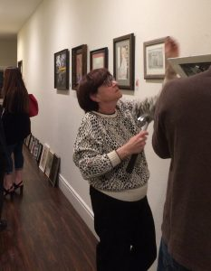 Pastimes Student Art Showcase Installation, Daphne's Desserts