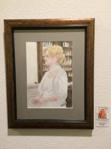 Sherry Schwartz' Watercolor, Pastimes for a LIfetime Student Art Showcase