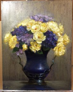 Regina Lyubovnaya Rose Painting