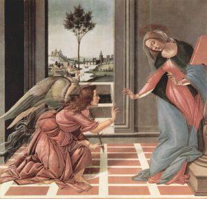 Sandro Botticelli Annunciation 1489-1490