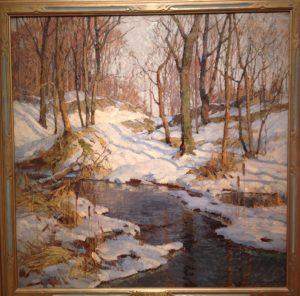 February's Sun, Frederick John Mulhaupt
