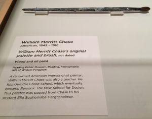 William Merritt Chase's Paintbrush