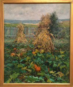 Corn Stalks and Pumpkins, Ben Foster
