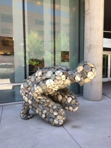 Nevada Museum of Art Sculpture