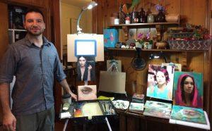 Ignat Ignatov Eye Painting Workshop