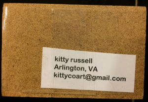 Kitty Russell Art-O-Mat® Back