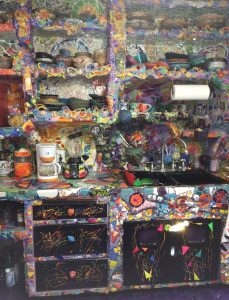 Mosaic TIle House Kitchen