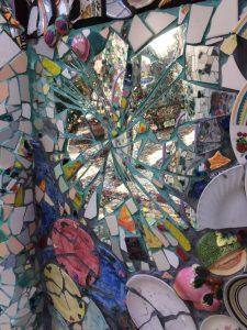 Mosaic Tile House Wall
