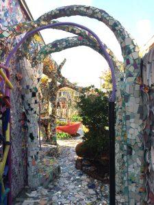 Mosaic Tile House Arches
