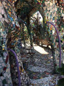 Mosaic Tile House Patio
