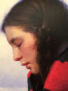 """Shadow Catcher"" oil by Jeremy Lipking"