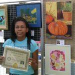 Maya Krueger 2007 Pastimes for a Lifetime Student Art Show