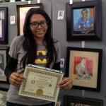 Maya Krueger 2013 Pastimes for a Lifetime Student Art Show