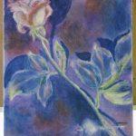 Acrylic Rose study by Maya Lynne Krueger. Original artist unknown.