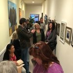 Pastimes for a Lifetime Student Gallery Opening at Daphne's Desserts