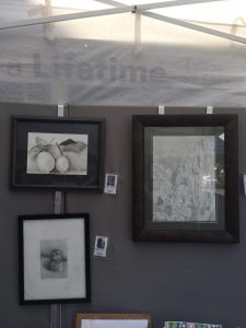 Pastimes for a Lifetime Booth, Downtown Burbank Arts Festival