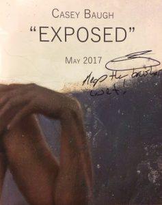Casey Baugh Autograph