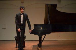 Benjamin Krasner at the Piano
