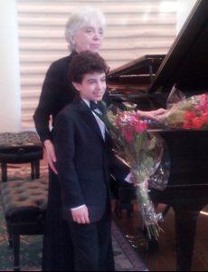 Benjamin Krasner and Piano Teacher