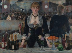 At the Bar de Folies-Bergere