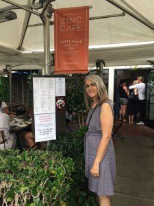 Linda Wehrli at Zinc Cafe