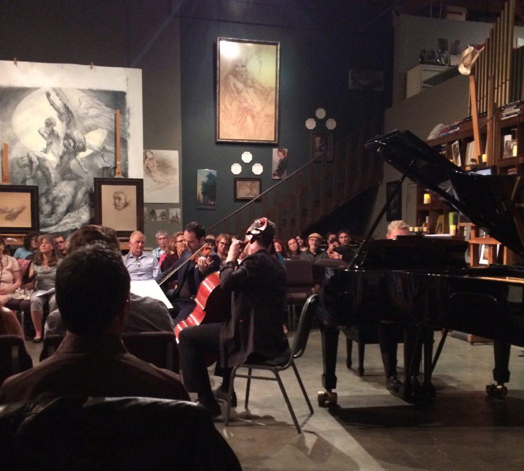 Trio at Classical Underground