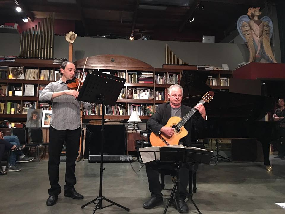 Philip Viaman, Violin and Kenton Youngstrom, Guitar Duet
