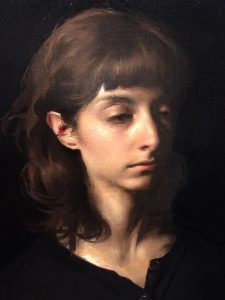Jordan Sokol's Oil Painting, Abyss
