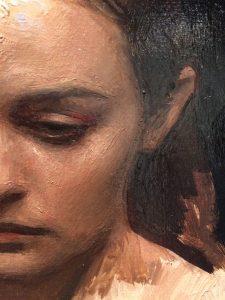 Linda Wehrli's second close-up of Jordan Sokol's Oil Painting, Mazi