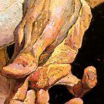 """Pantomime No. 16"" Hand Close-up, Denis Sarazhin"