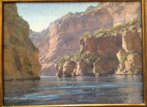 "Matt Smith ""Canyon Lake Cliffs"""