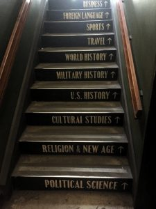 The Last Bookstore Staircase