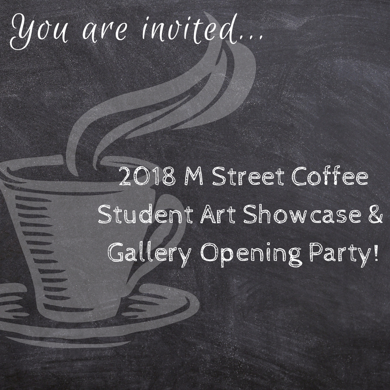 M Street Coffee hosts Pastimes for a Lifetime Student Art Showcase