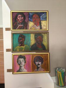 Oil Painting, Teapop DTLA, Jessica Lee Sanders