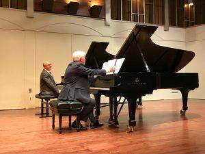 Drs. Dmitry Rachmanov and John Salmon, Cypress Hall, CSUN