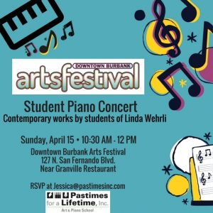 Pastimes for a Lifetime Piano Students Perform at the 2018 DTBUR Arts Festival