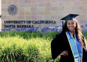 Pastimes for a Lifetime Piano Student, Priscilla Moore Graduates from UCSB