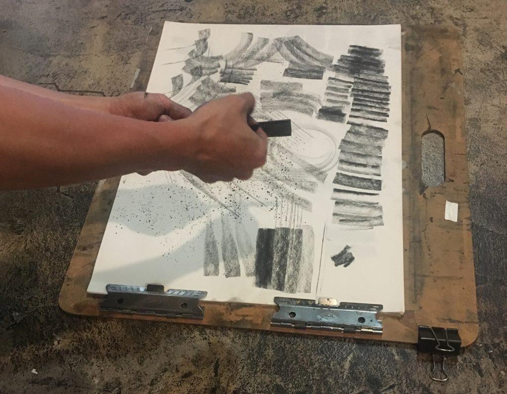 Zin Lim with Sandpaper