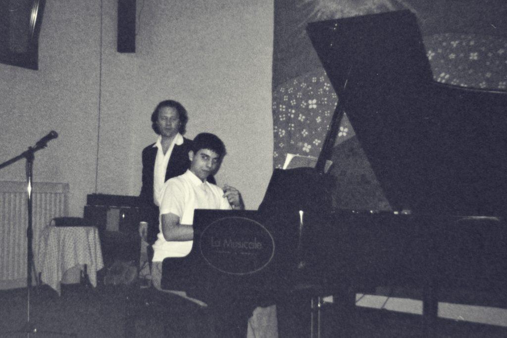 Leonardo Barilaro as a Teen