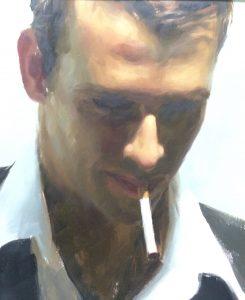 """Aldo Balding, """"Moment"""", Oil on Canvas"""