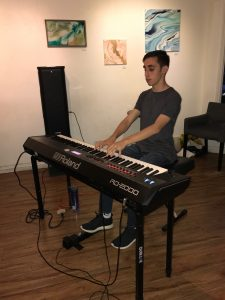 Pastimes for a Lifetime piano student, Chris K.