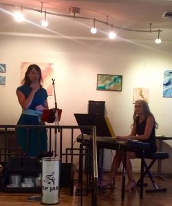 "Radina Veliova and Linda Wehrli Perform Carole King's ""Stand Behind Me"""