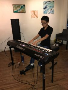 Pastimes for a Lifetime piano student, Ryan P.