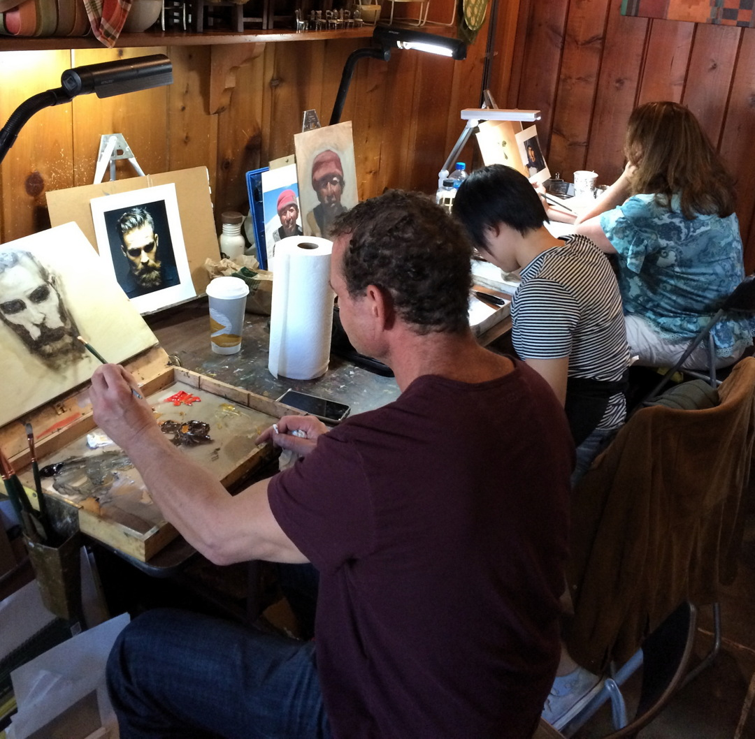 d8f6befce2 Aaron Westerberg Workshop Guests at Pastimes for a Lifetime