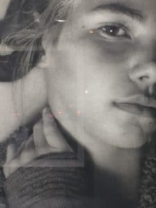 """Origin"" by Annie Murphy Robinson - Head Close-Up"
