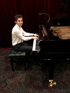 Pastimes for a Lifetime piano student, Aidan C.