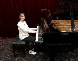 Pastimes for a Lifetime Piano Student, Carmen S.